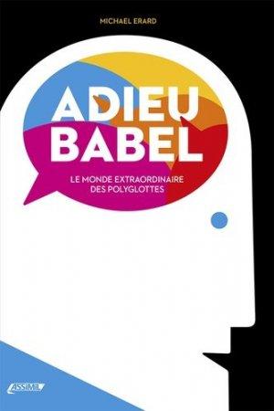 Adieu Babel - assimil - 9782700507362 -