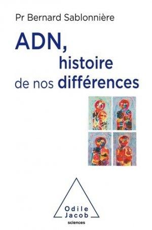 ADN, histoire de nos différences - odile jacob - 9782738152619 -