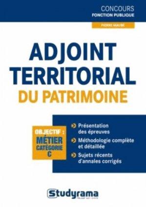 Adjoint territorial du patrimoine de 1re classe - Studyrama - 9782759023202 -