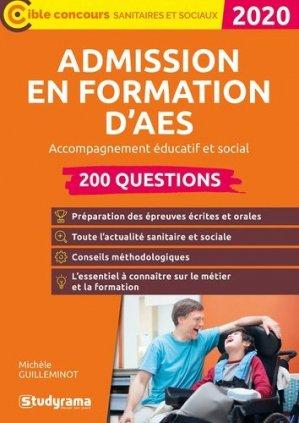 Admission en formation d'AES - studyrama - 9782759041831 -