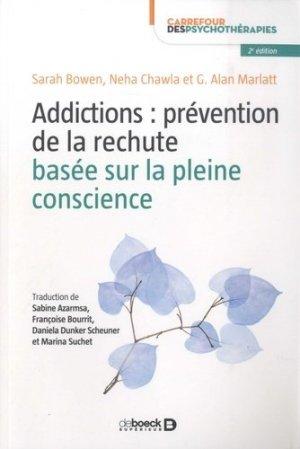 Addictions : prévention de la rechute basée sur la pleine conscience - de boeck - 9782807314887 - https://fr.calameo.com/read/000015856623a0ee0b361
