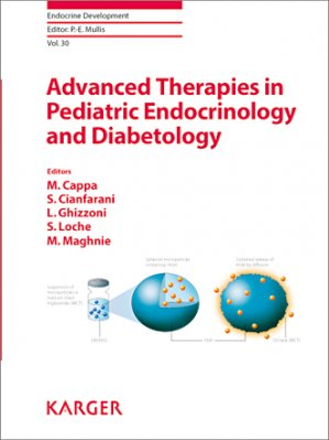 Advanced Therapies in Pediatric Endocrinology and Diabetology - karger  - 9783318056365 -