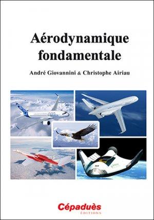 Aérodynamique fondamentale - cepadues - 9782364935006 -