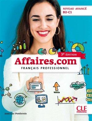 Affaires.com niveau avancé B2-C1 - Nathan - 9782090386820 -
