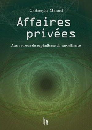 Affaires privées - CandF Editions - 9782376620044 -