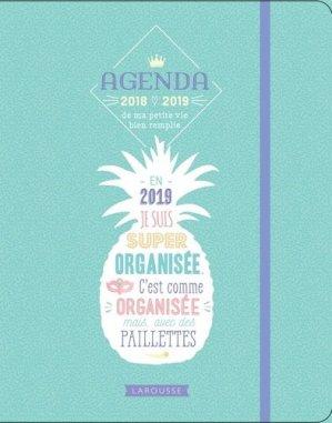 Agenda ma petite vie bien remplie 2018-2019 - larousse - 9782035953766 -