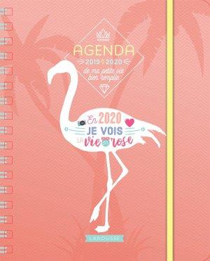 Agenda de ma petite vie bien remplie - larousse - 9782035962676