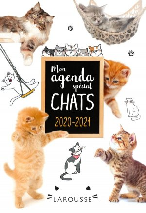 Agenda spécial chats 2020/2021 - larousse - 9782035991737 -