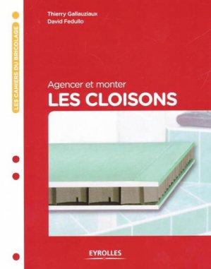 Agencer et monter les cloisons - eyrolles - 9782212134896 -