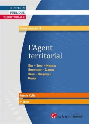 Agent territorial - gualino - 9782297135672 -
