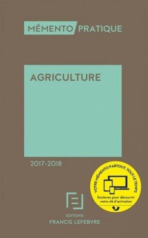 Agriculture 2017-2018 - francis lefebvre - 9782368932063 -