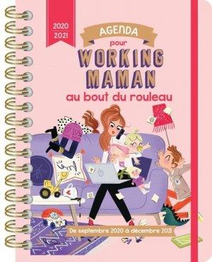 Agenda pour working maman au bout du rouleau. Edition 2020-2021 - 365 - 9782377617166 -