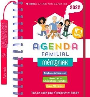 Agenda familial Mémoniak - 365 - 9782377617418 -