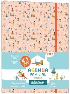 Agenda familial pocket Mémoniak - 365 - 9782377617425 -