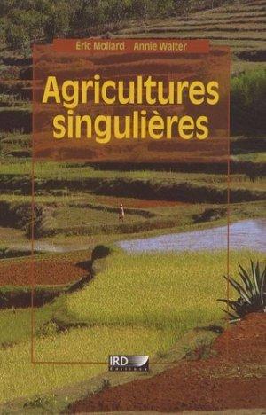 Agricultures singulières - ird - 9782709916233 -