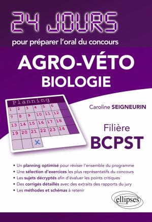 Agro-Véto Biologie - ellipses - 9782729876302 -