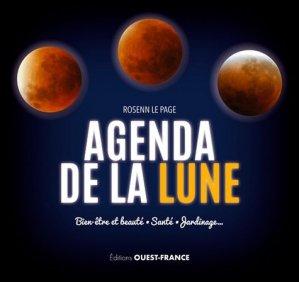 Agenda de la lune 2017 - ouest-france - 9782737372711