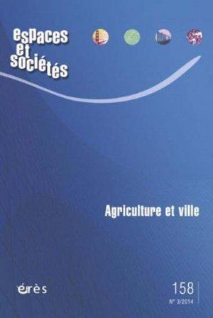 Agriculture et ville - eres - 9782749241951