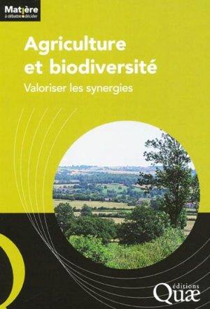 Agriculture et biodiversité - quae  - 9782759218240 -