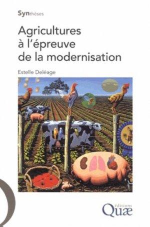 Agricultures à l'épreuve de la modernisation - quae  - 9782759219575 -