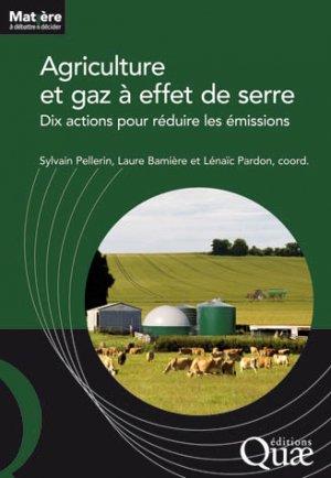 Agriculture et gaz a effet de serre - quae  - 9782759223145 -