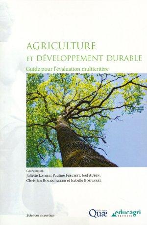 Agriculture et developpement durable - quae  - 9782759224395 -