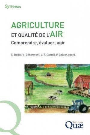 Agriculture et qualité de l'air - quae - 9782759230099 -