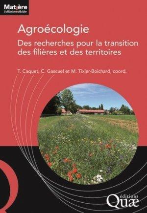 Agroécologie - quae - 9782759231294 -