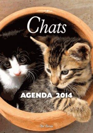 Agenda 2014 Chats - de boree - 9782812909238 -