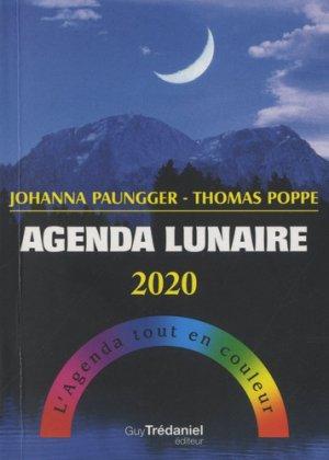 Agenda lunaire 2020 - guy trédaniel - 9782813221070