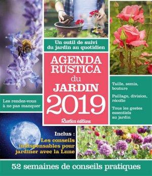 Agenda Rustica du jardin 2019 - rustica - 9782815311724
