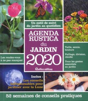 Agenda Rustica du jardin 2020 - rustica - 9782815313513 -