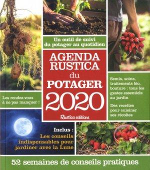 Agenda Rustica du potager 2020 - rustica - 9782815313520 -