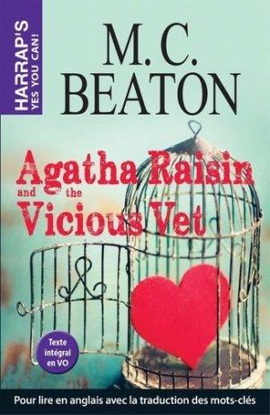 Agatha Raisin and the Vicious Vet - Harrap's - 9782818707098 -