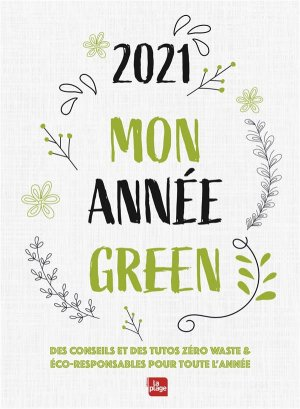 Agenda mon année green Poche - La Plage - 9782842217969 -