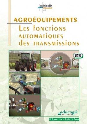 Agroéquipements Les fonctions automatiques des transmisissions - educagri - 9782844443366 -