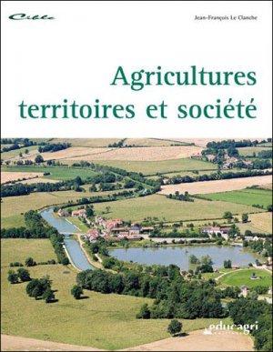 Agricultures, territoires et société - educagri - 9782844447739 -