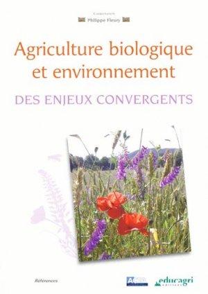 Agriculture biologique et environnement - educagri - 9782844448125