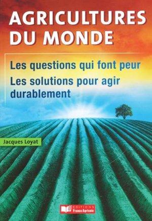 Agricultures du monde - france agricole - 9782855572499 -