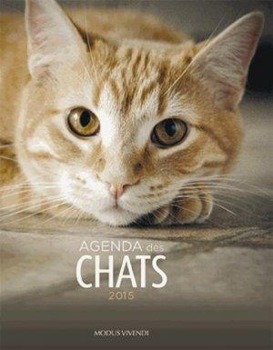 Agenda des chats 2015 - Modus Vivendi - 9782895238515 -