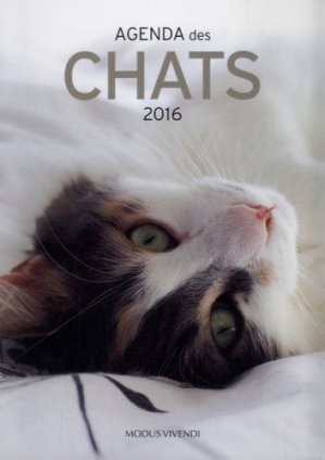 Agenda des chats 2016 - Modus Vivendi - 9782895238850 -