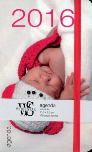 Agenda bébés 2016 - White Star - 9788861126923 -