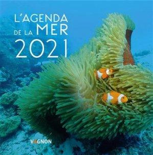 Agenda de la mer 2021 - vagnon - 9791027104819 -
