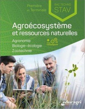 Agroécosystème et ressources naturelles 1re et Tle Bac technologique STAV - Educagri - 9791027503353 -
