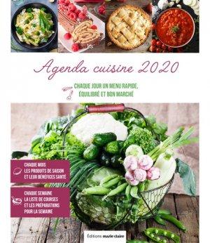 Agenda cuisine - marie claire - 9791032304075 -