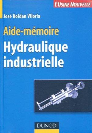 Hydraulique industrielle-dunod-9782100488636