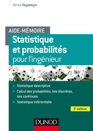 Aide-mémoire - Statistique et probabilités pour les ingénieurs-dunod-9782100766017