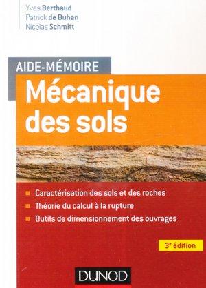 Aide-mémoire - Mécanique des sols-dunod-9782100776498