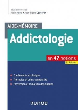 Aide-mémoire - Addictologie - dunod - 9782100788408 -