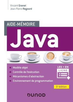 Aide-mémoire - Java - dunod - 9782100790388 -